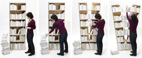 Expanding Bookshelf Green Chair Press Blog