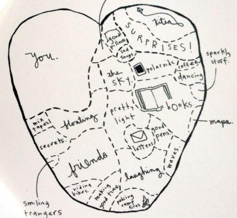 map of my heart green chair press blog
