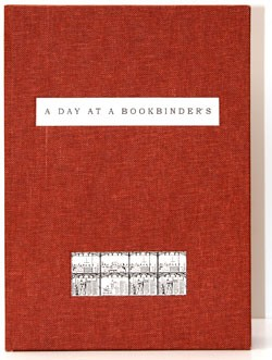 Box for A Day at a Bookbinder's