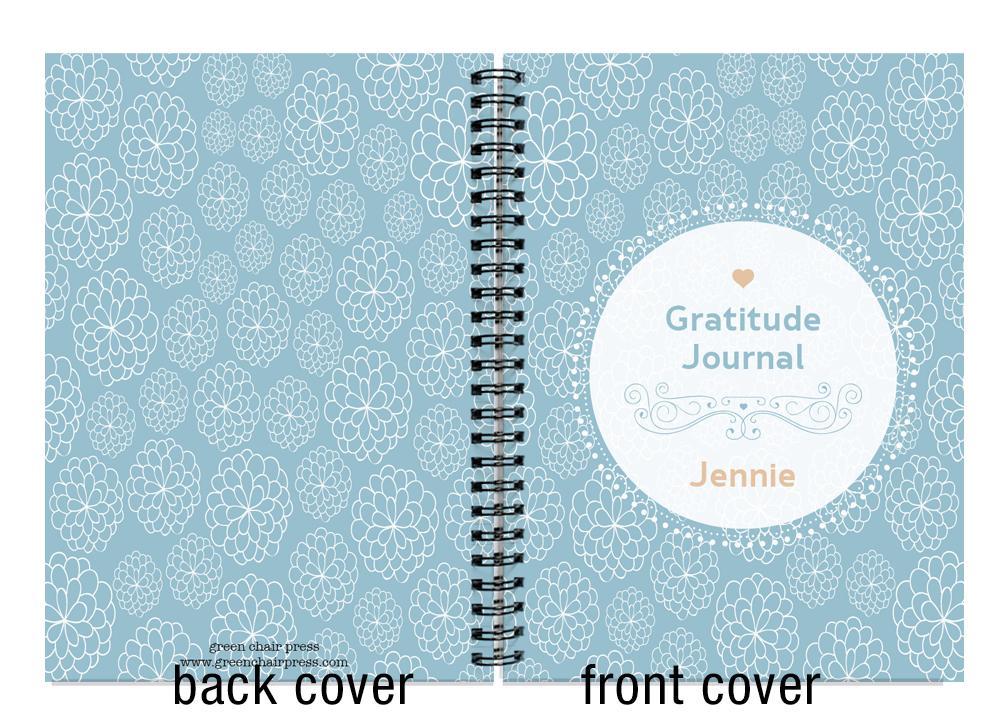 personalized gratitude journal