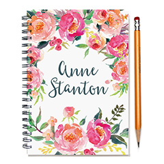Personalized Notebooks And Planners Green Chair Press