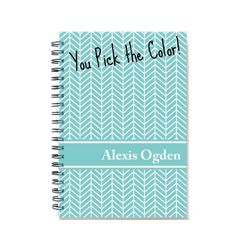 personalize this 12 month planner with your name